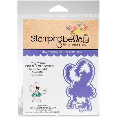 Stamping Bella Cut It Out Dies Tiny Townie - Raven Loves Ribbon